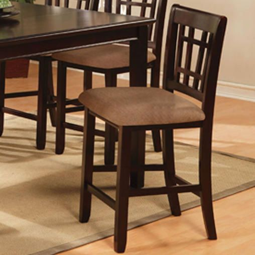 247Shopathome Kendall Dark Cherry Finish Counter Height 9Piece Cool Kendall Dining Room Decorating Inspiration