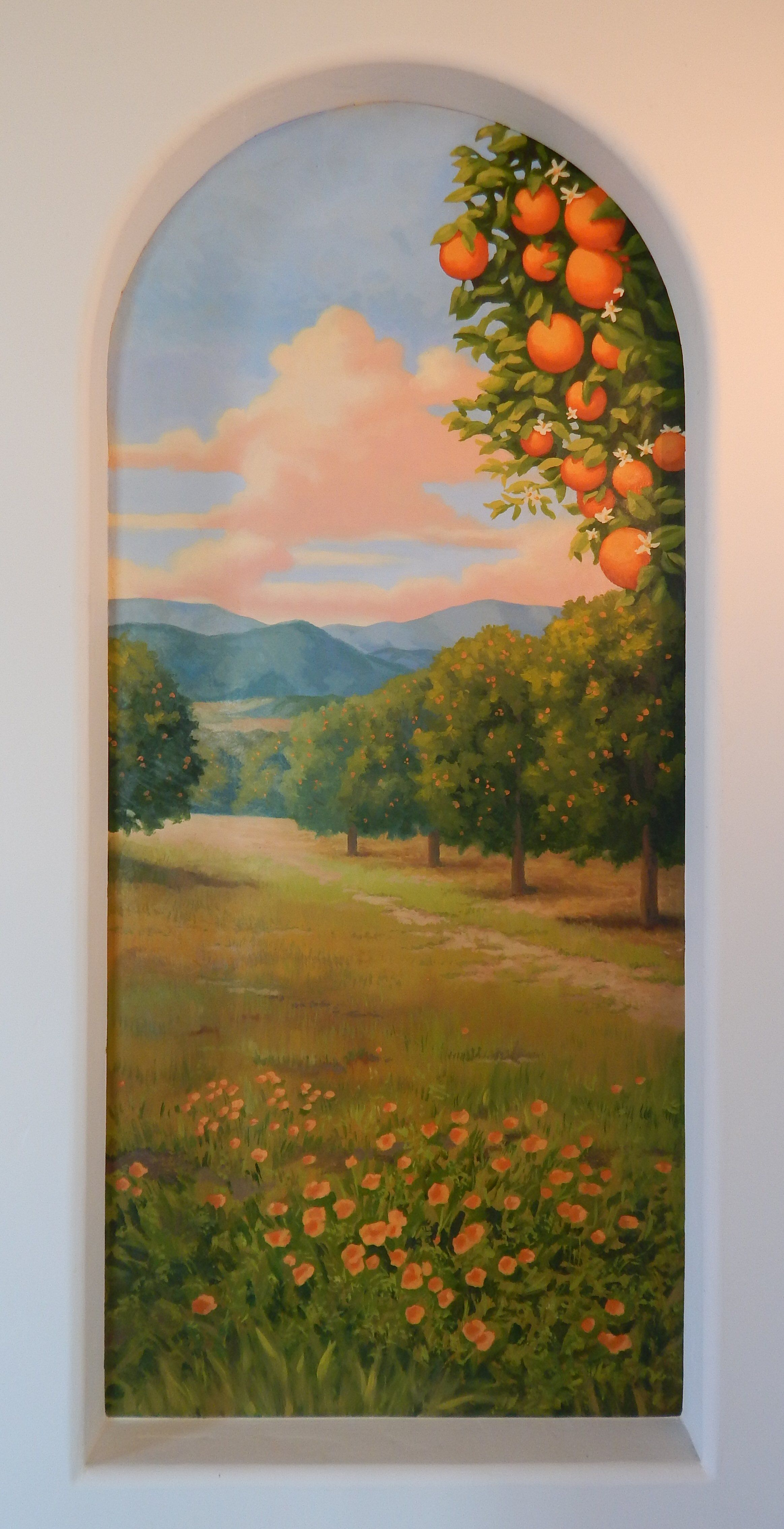 Robert Niche Painting : robert, niche, painting, Niche, Ideas, Mural,, Trompe, L'oeil,, Mural, Painting