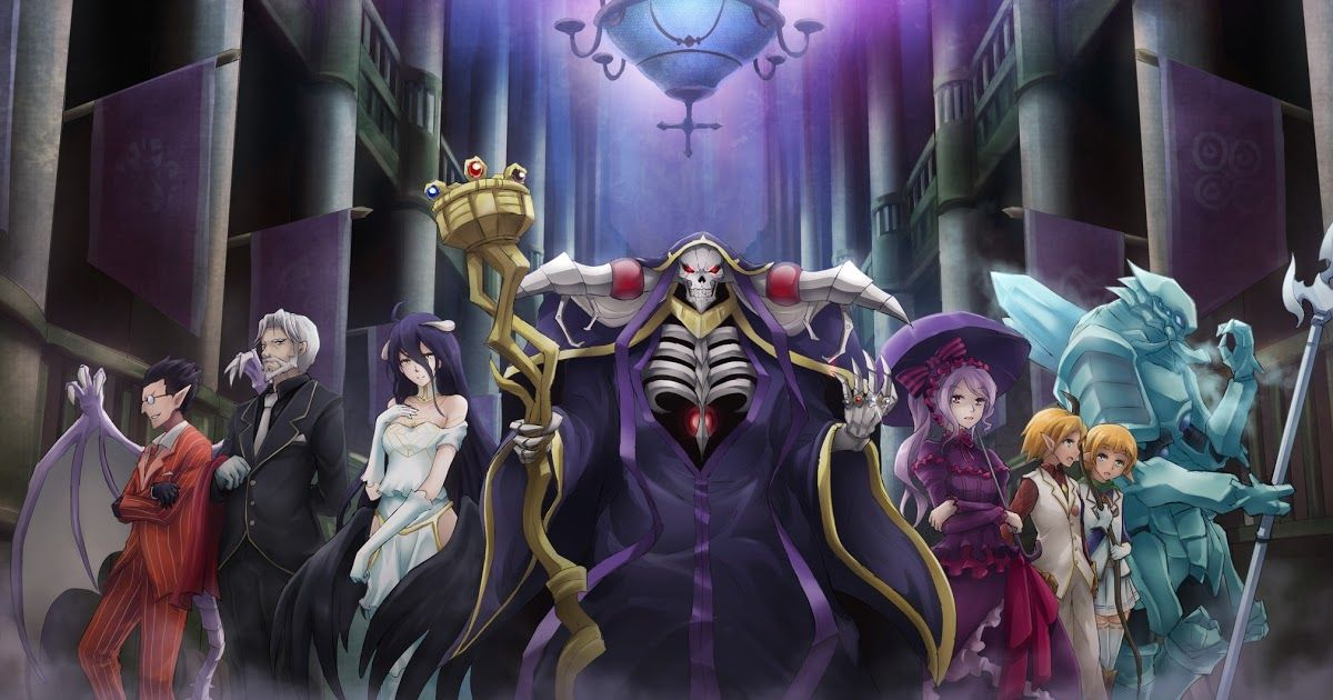 Wallpaper anime Overlord HD Hd anime wallpapers, Anime