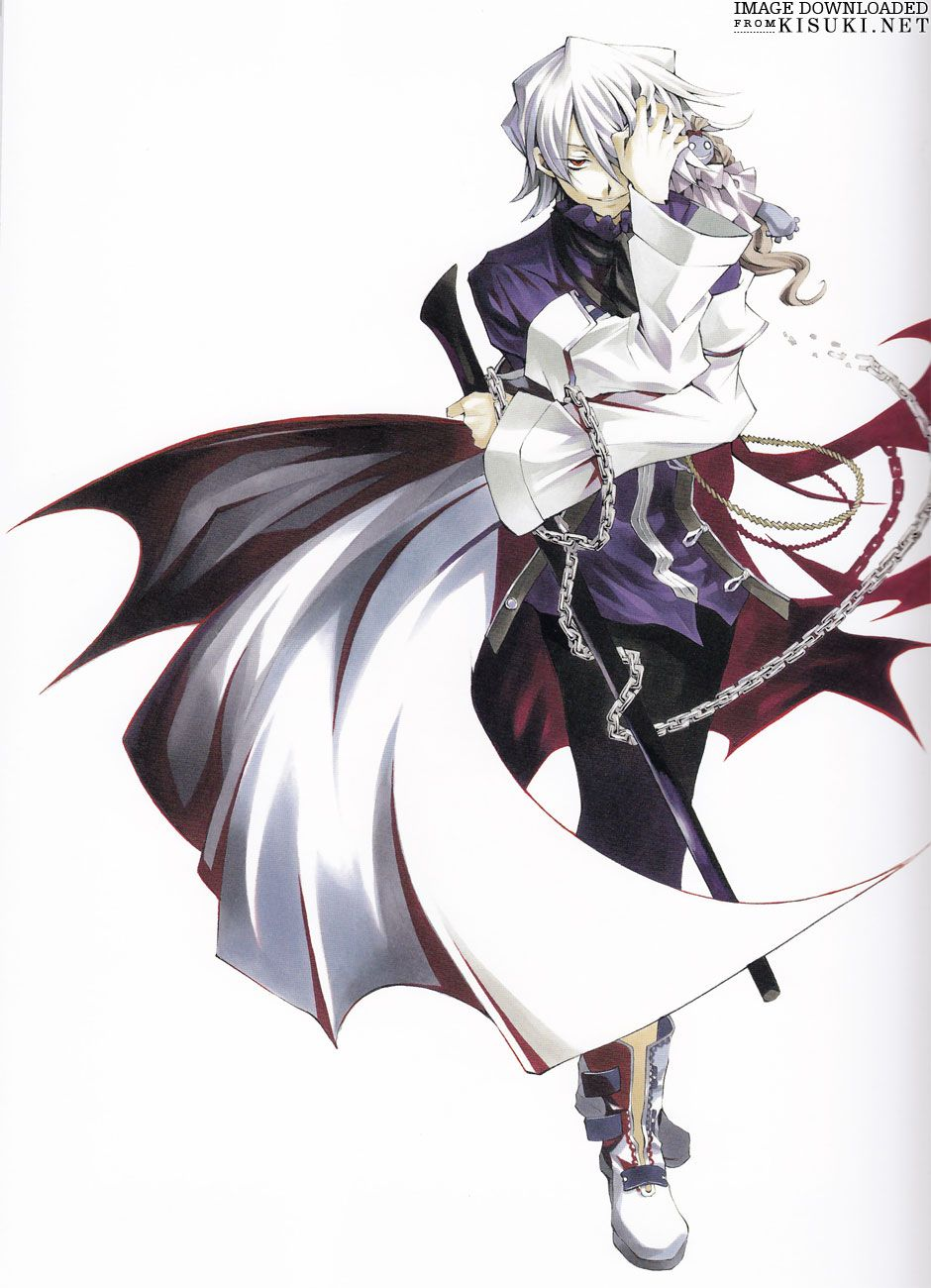 Pandora Hearts Xerxes Break White Coat Outfit