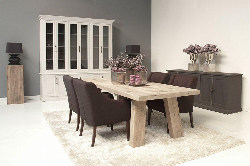 Landelijke moderne houten tafels   nieuwe huis   Pinterest   Country ...