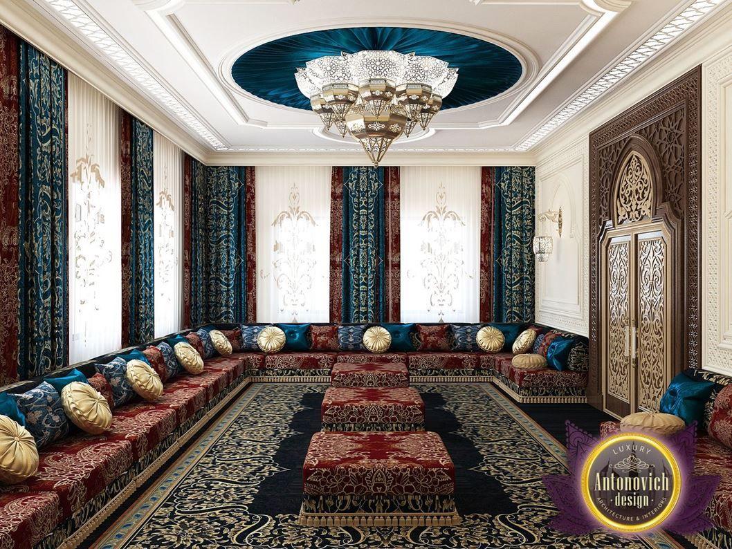 Arabic Style In The Interior Of Luxury Antonovich Design - Picture ...