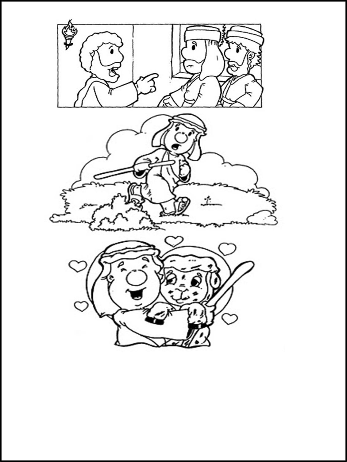 Oveja+perdida+2.png (1131×1506) | Páginas Para Colorear | Pinterest ...