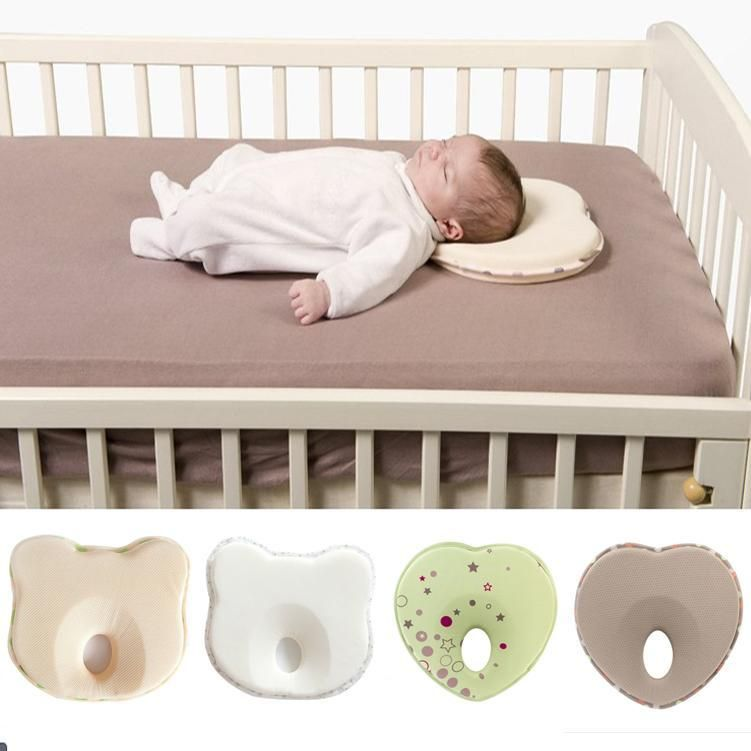 Anti Flat Head Baby Pillow Baby Pillows Portable Baby Bed Baby Room Curtains