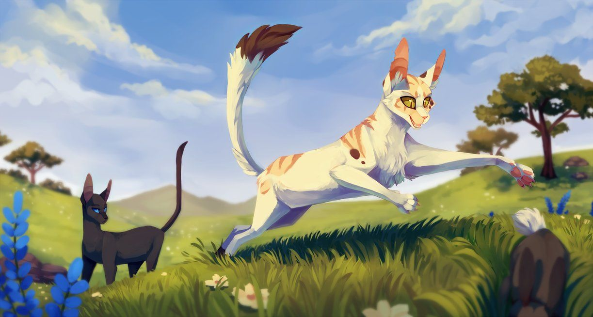 Songpaw Hunting By Lttleghost With Images Warrior Cats