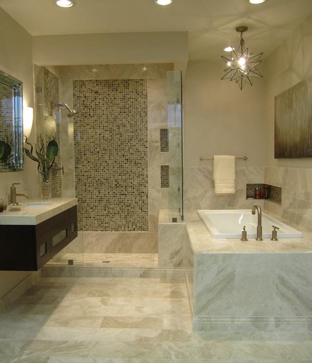 beige marble bathroom