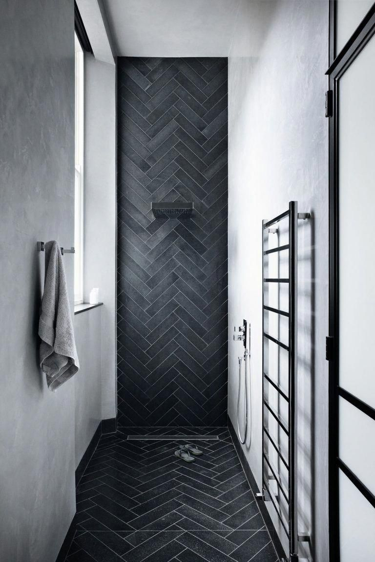 For An Industrial Cool Wet Room Tactile Tadelakt And Lava Stone