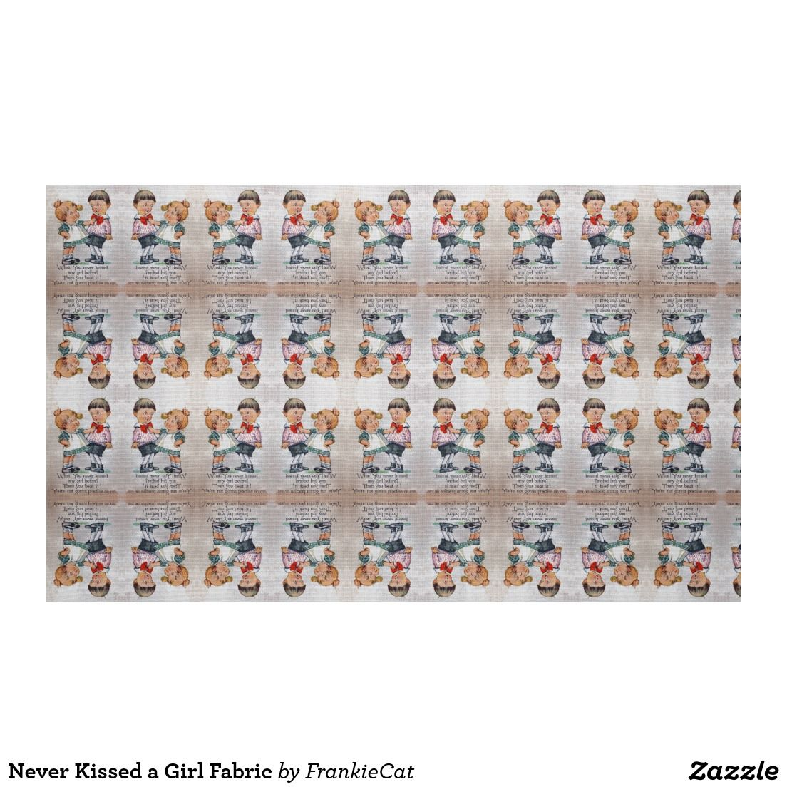 Never Kissed a Girl Fabric