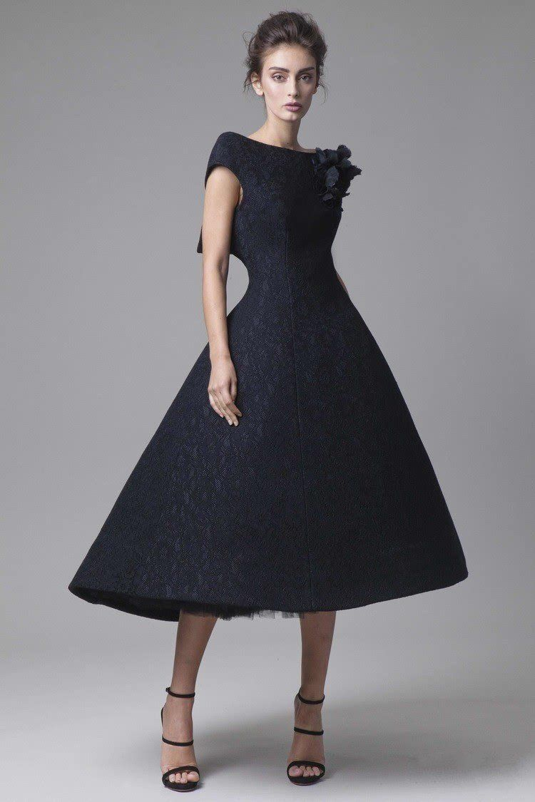 Black Lace Cocktail Dresses Short Front Long Back Prom Dresses Cap Sleeve Party Dresses Cus In 2021 Elegant Dresses Black Lace Cocktail Dress Lace Cocktail Dress Short [ 1125 x 750 Pixel ]