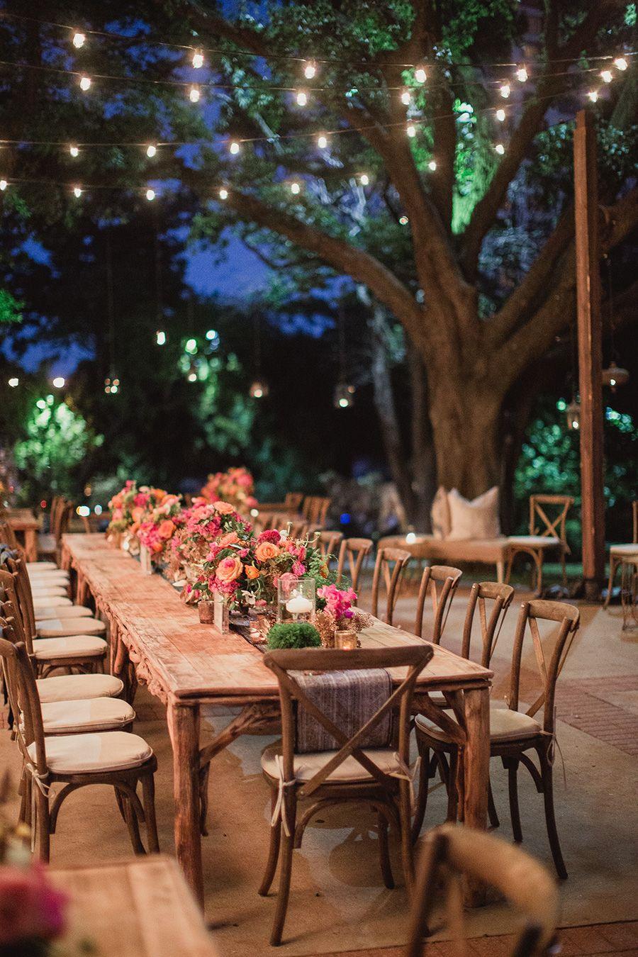 Bohemian Wedding Reception Ideas