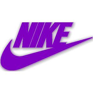 purple nike logo original nike logo edited by fleur de. Black Bedroom Furniture Sets. Home Design Ideas