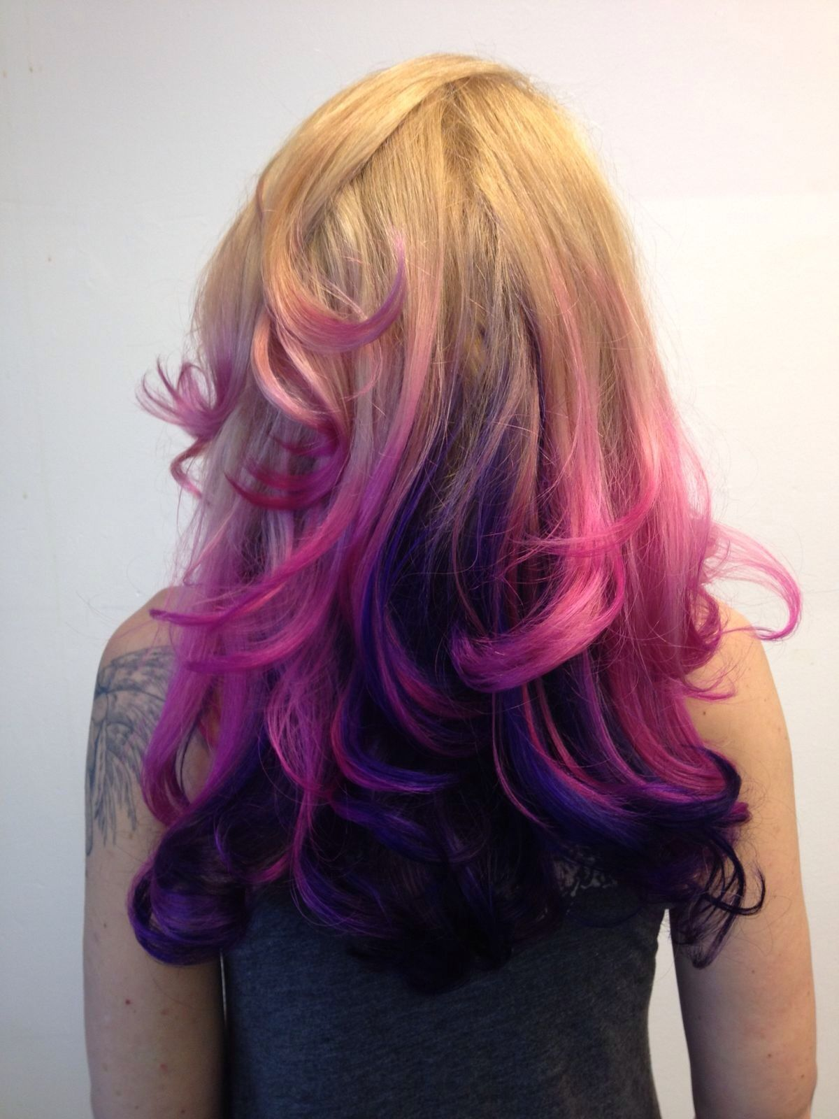 Behind The Chair Ombre Hair Hairchalk Trend Lorealprofessionnel Malenashot