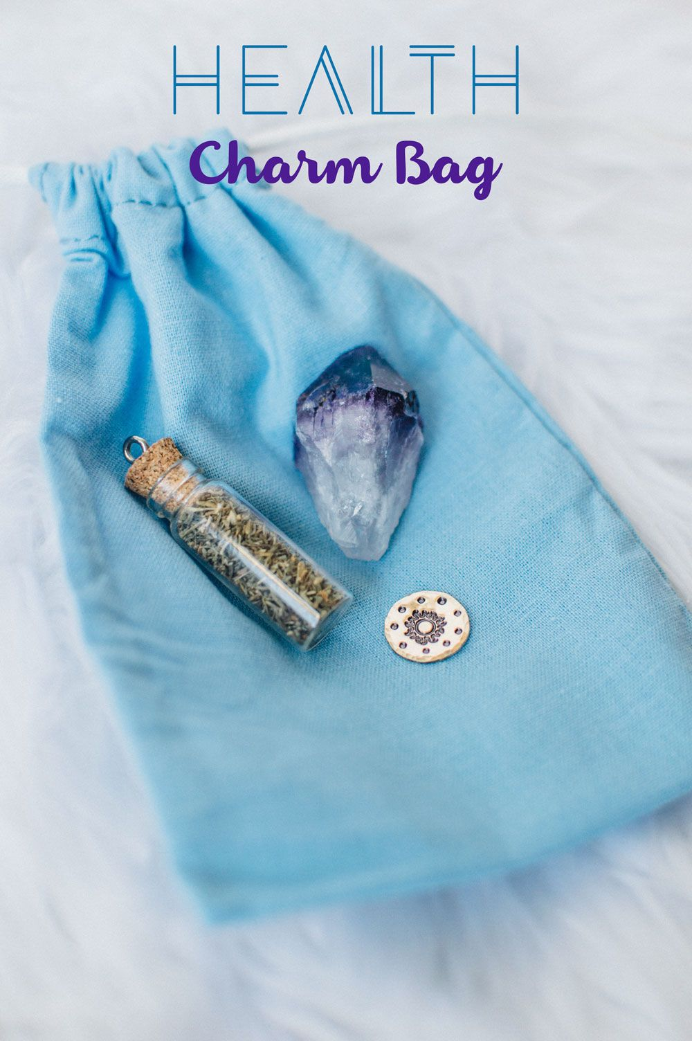 Magic Charm Bags for Protection, Love, Luck & Health | crystals