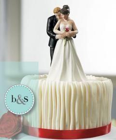 Munecos De Torta Romanticos Producto De Brides Y Smiles Sobre