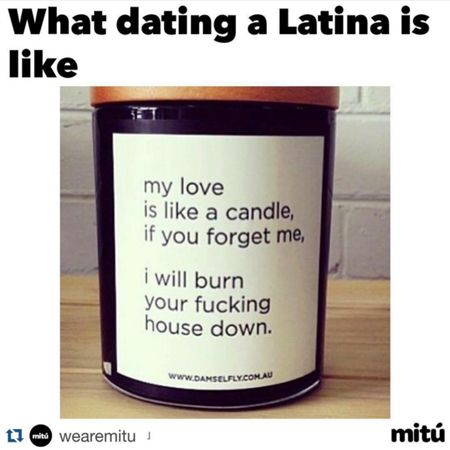 All became me and my latina girlfriend have quickly