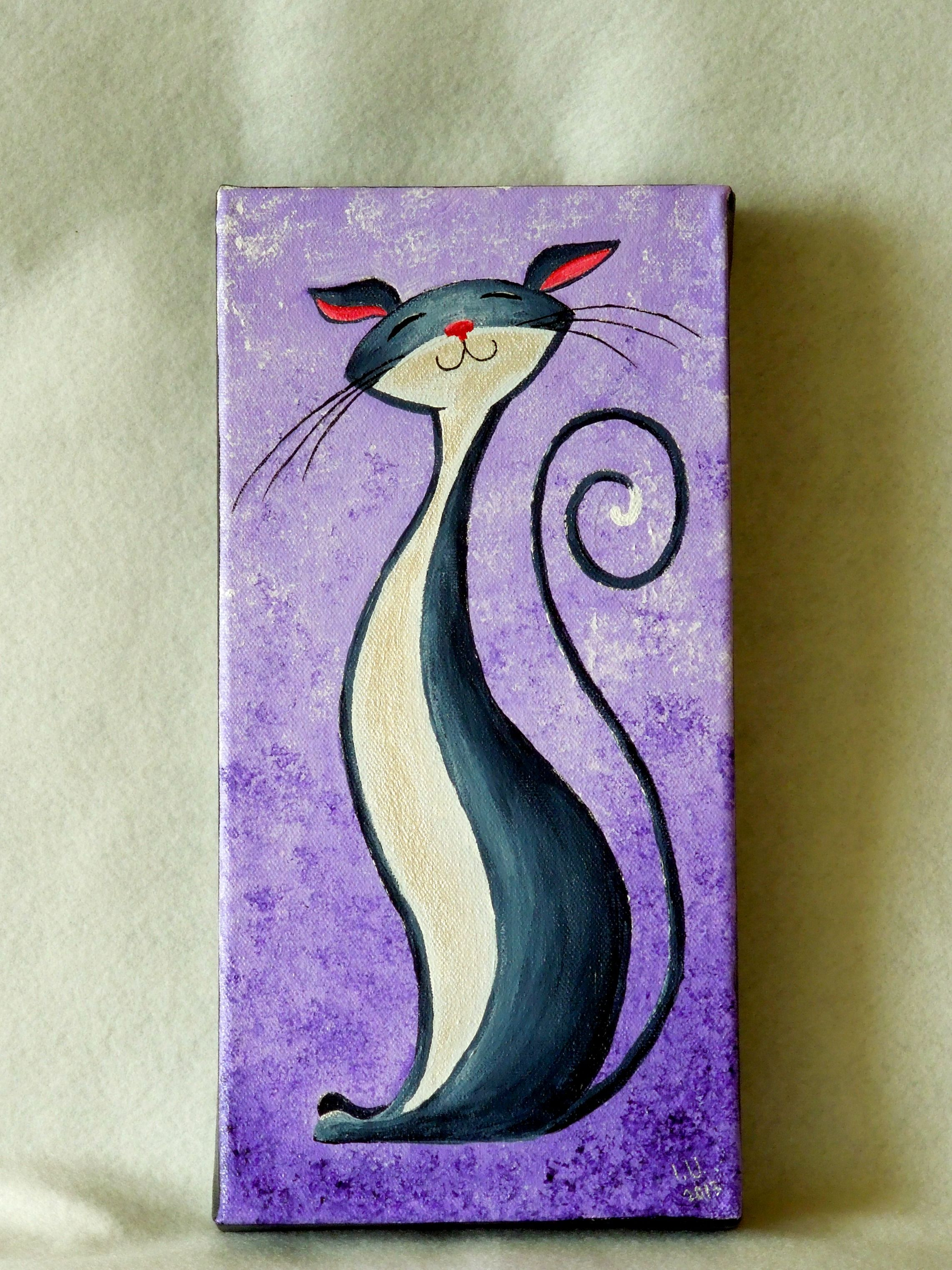 Cats Naturelands Page 2 Cat Painting Simple Acrylic Paintings Easy Canvas Painting