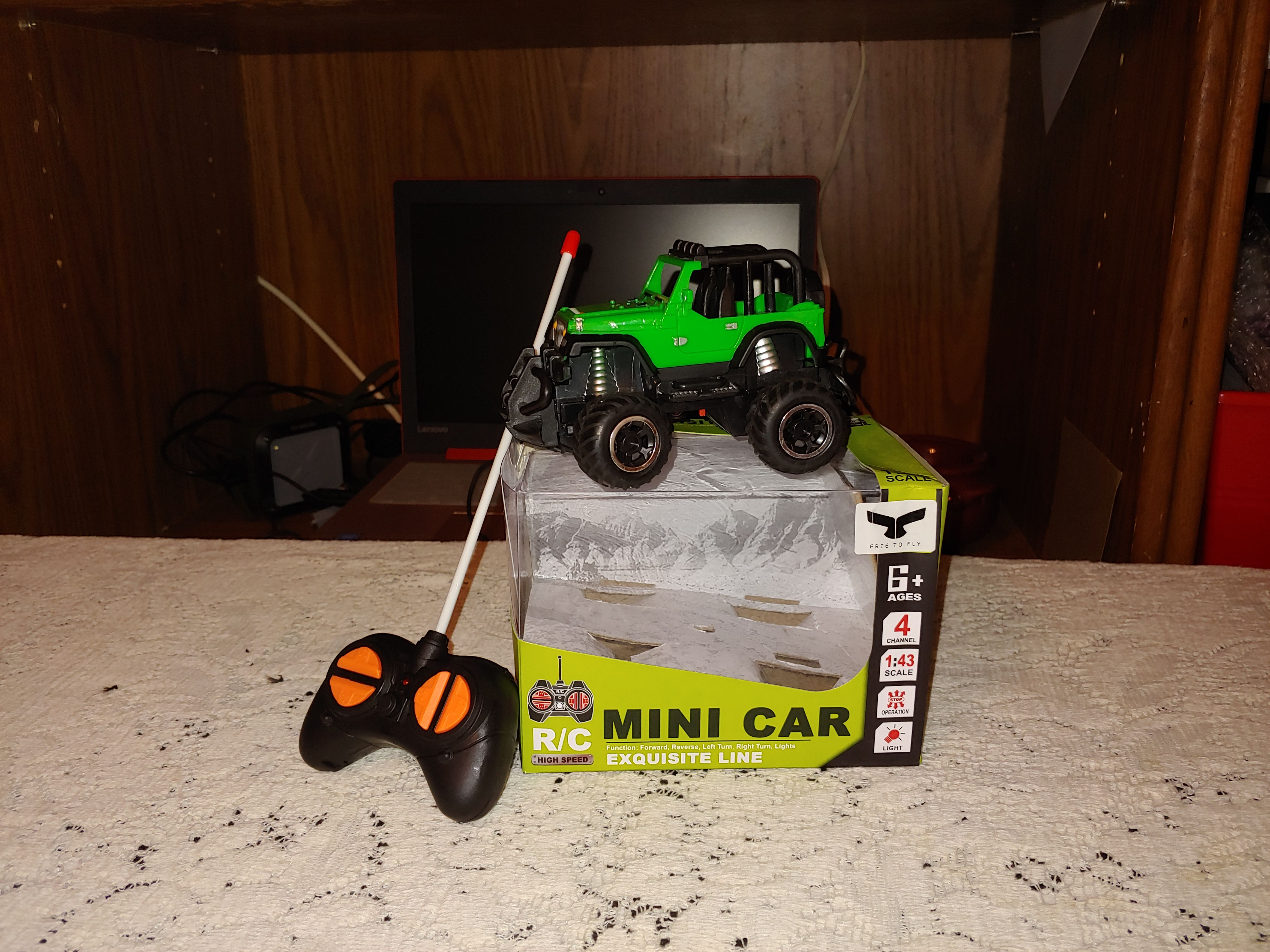 Free To Fly Remote Control Car off road Mini RC Cars This