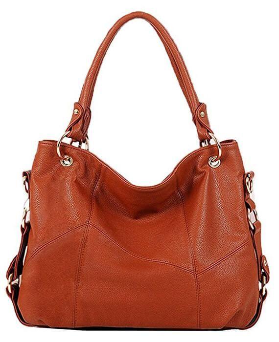 08f2ec956 PU Leather Patchwork Women Handbags in 2019   Purses   Bags ...