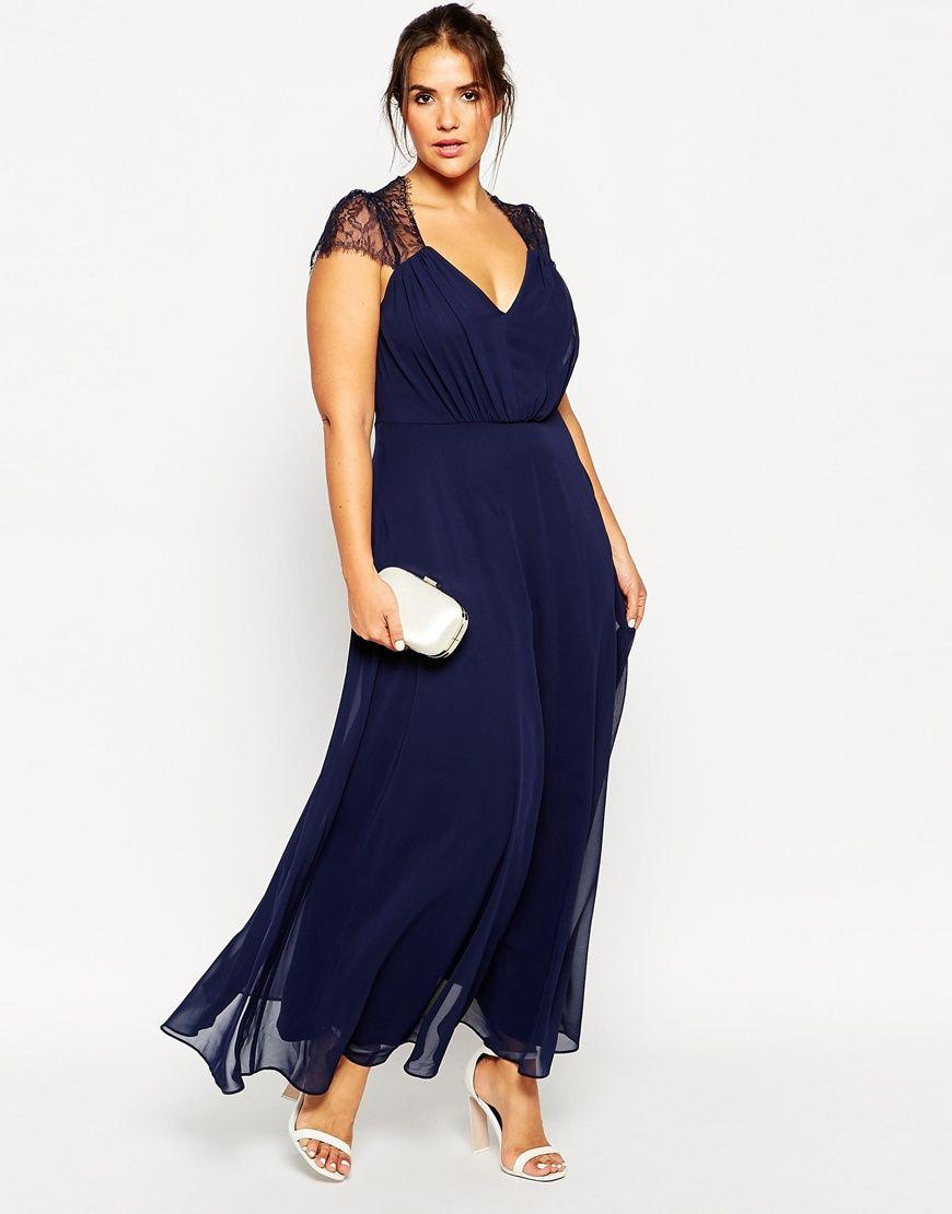 Asos curve lange kleider - Stylische Kleider für jeden tag