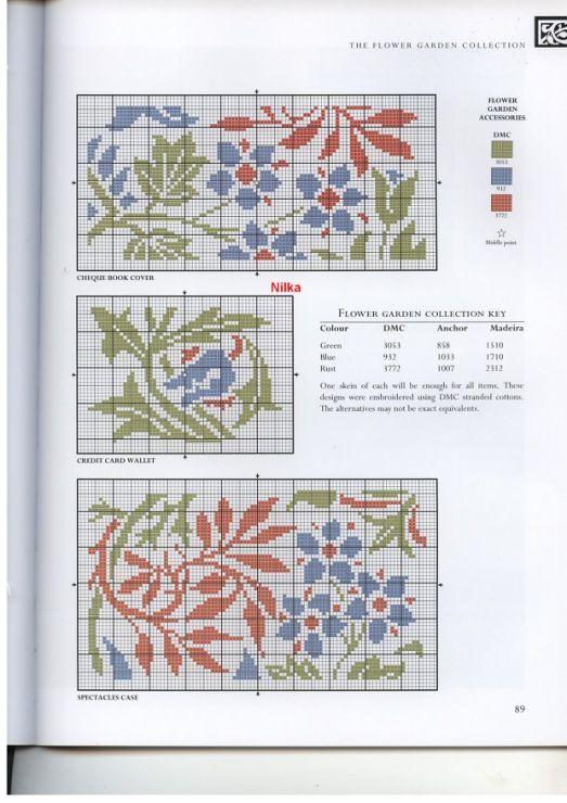 Gallery.ru / Foto # 76 - El arte de William Morris en punto de cruz ...