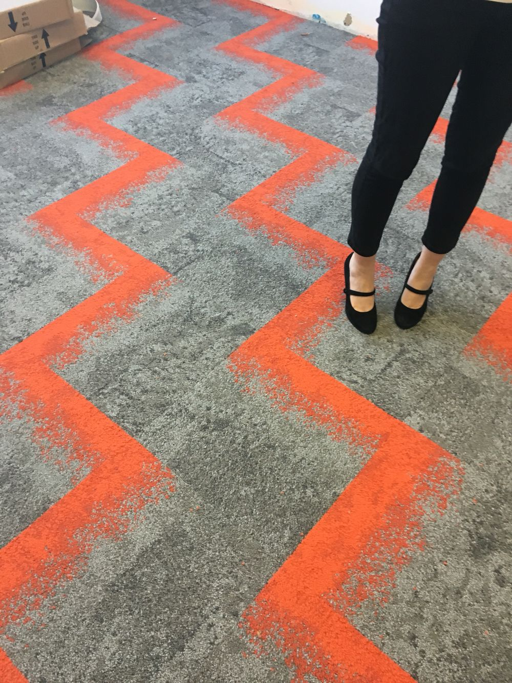 Love Urban Retreat Patterned Carpet Corporate Interiors