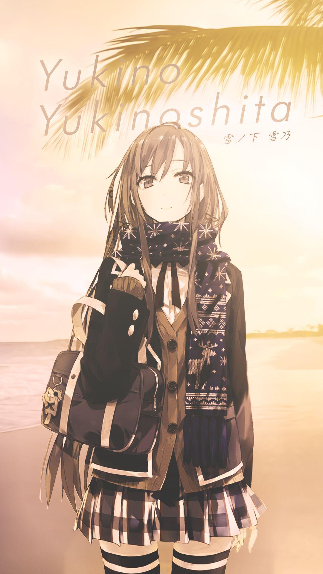 Yukino Yukinoshita | OreGairu | Anno kun wallpaper anime
