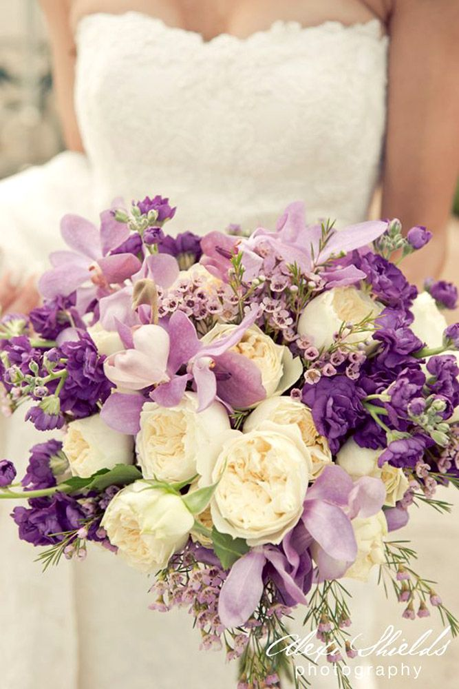 Wedding Colors Popular Palettes Trends For 2021 Purple Wedding Bouquets Purple Wedding Flowers Blue Wedding Bouquet