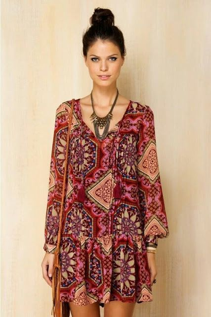 Hippie Style Dresses For Sale