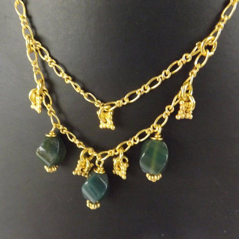 URGC80 - Orange Grove jewellery Kit inc; Gold Plated Copper Essential Finding Kit Organza Bag, Approx 115  http://www.jewellerymaker.com/