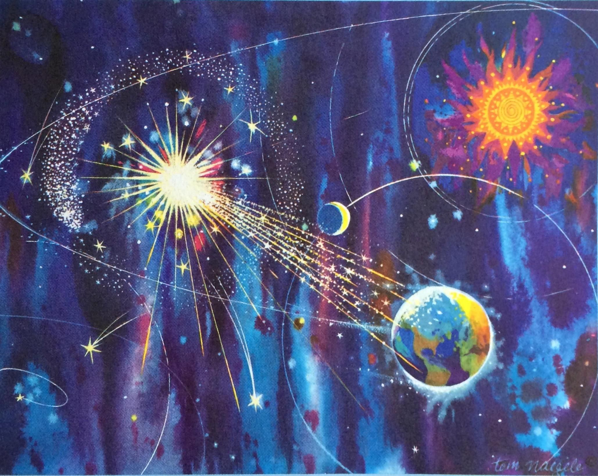 Galaxy of glory by thomas f naegele american artists greeting galaxy of glory by thomas f naegele american artists greeting card m4hsunfo