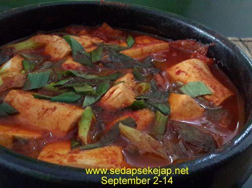 Resep Kimchi Guk ( Kimchi Soup )
