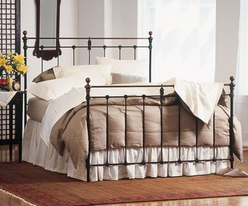 Queen bed wrought iron | Things for the house | Pinterest | Queen ...