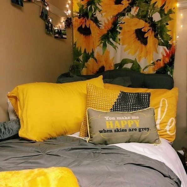 38+ What Everybody Dislikes About Sunflower Bedroom Ideas And Why 9 - athomebyte #sunflowerbedroomideas