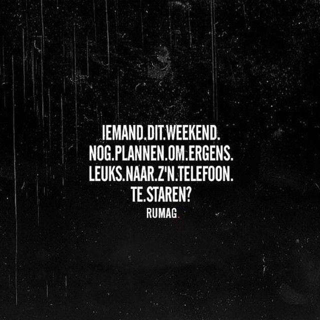 Iemand? #rumag #funny #quote