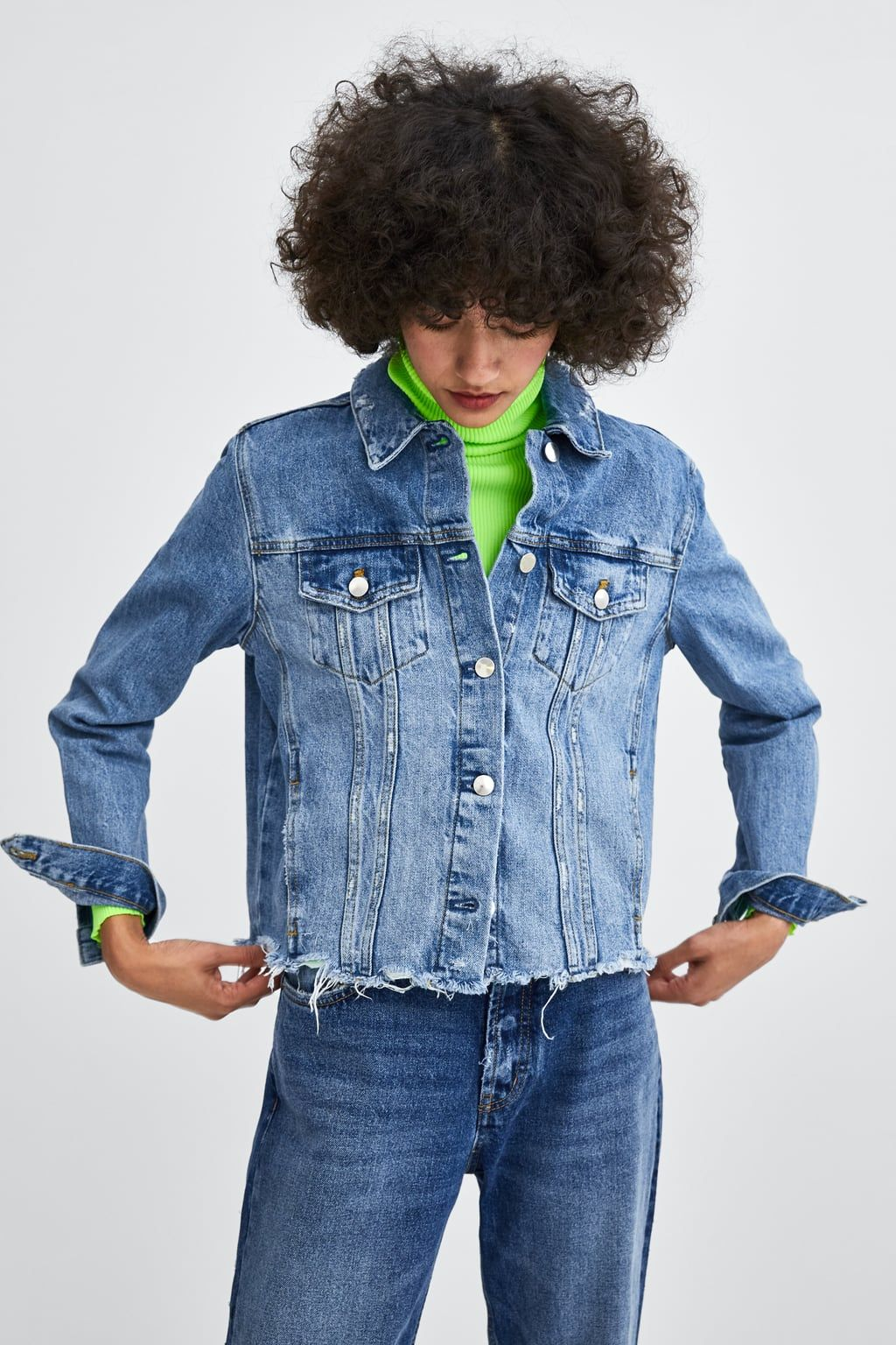 7982d182 Authentic denim ripped jacket | À La Mode | Denim, Jackets, Jackets ...