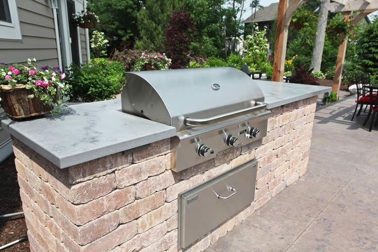 Outdoor Products   Project Portfolio | Hard Topix   Precast Concrete  Countertops | Concrete Sinks |