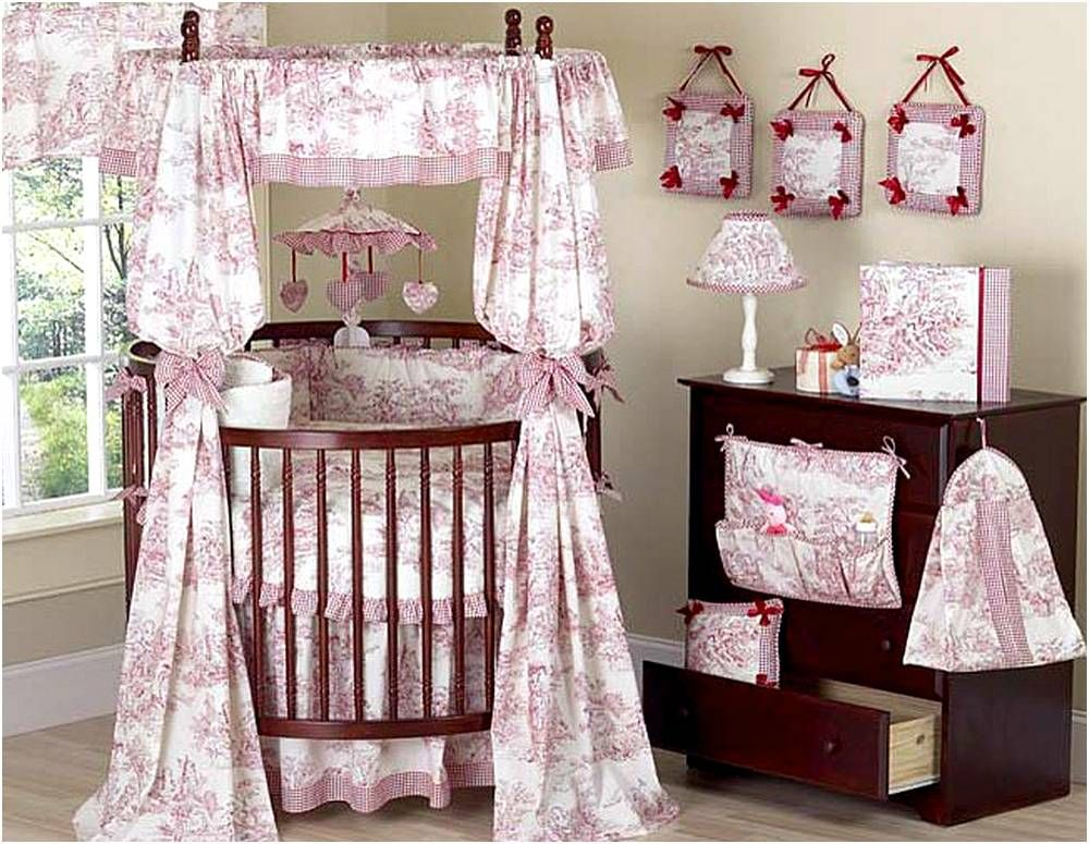 Round Baby Crib Bedding Sets