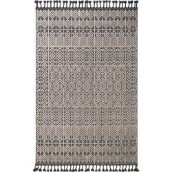 Photo of benuta Trends Kurzflor Teppich Laila Beige/Schwarz 155×230 cm – Moderner Teppich für Wohnzimmer