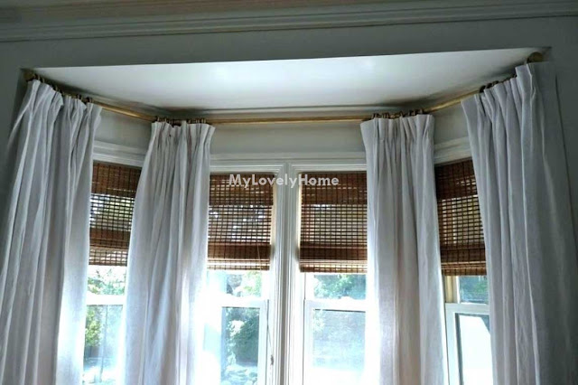 5 Sided Bay Window Curtain Rod Pictures Ideas Bow Window
