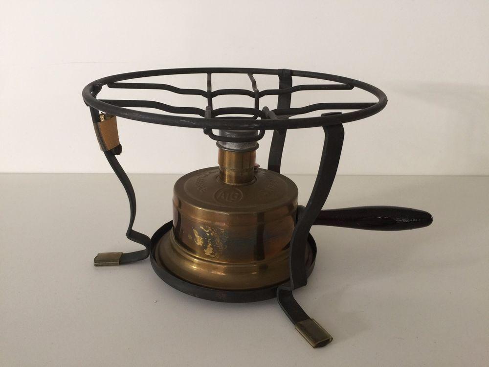 Vintage Garanti Alcohol Stove Military Burner, Made in France #Garanti
