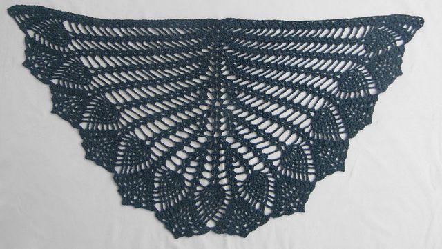 20 Free Crochet Pineapple Patterns Crochet Shawls Pinterest