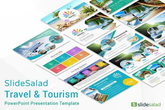 Travel Agency PowerPoint Template | Pinterest | Template ...