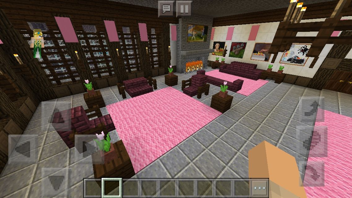 Richmond Manor Guest Bedroom #minecraft #interior #design ...