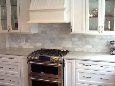 polished marble tiles