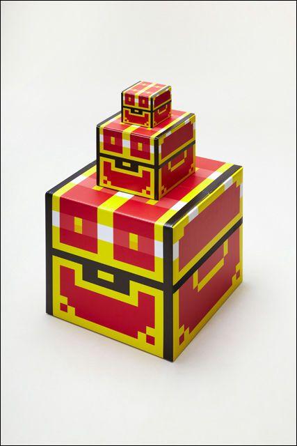 ゲームでよく見る「あの宝箱」を完全再現したデザイン段ボール「あの ...