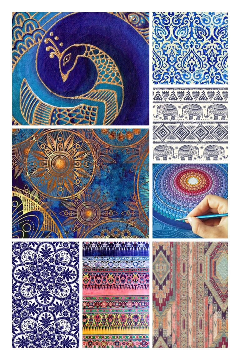 Bohemian Patterns Best Design Ideas