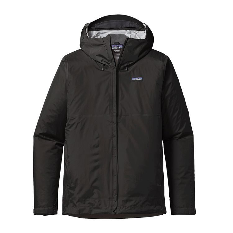 Patagonia Men's Torrentshell Jacket - Black, Size Small