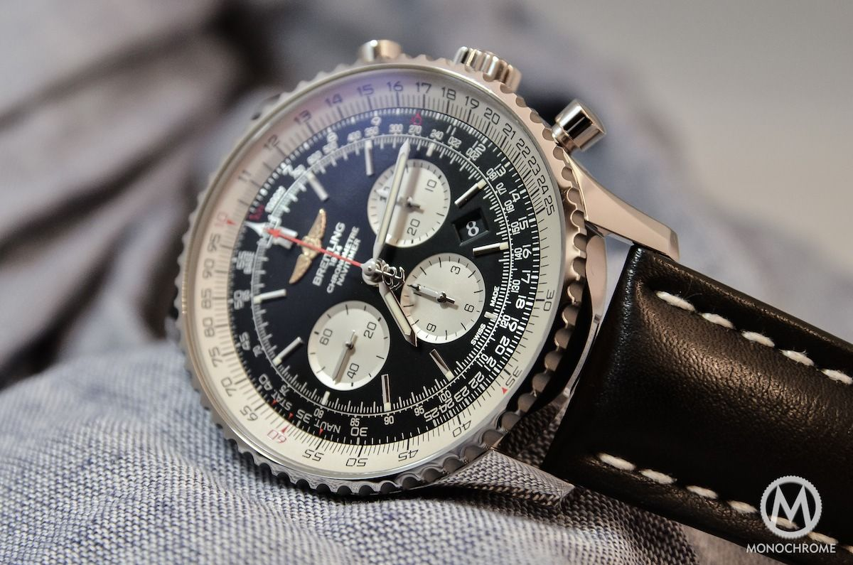 Introducing the Breitling Navitimer 01 in 46mm - Monochrome Watches
