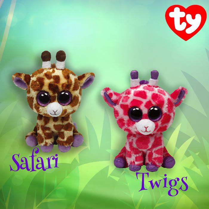 61227ce8bca Safari and Twigs Beanie Boos!