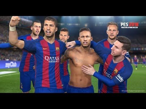 Pes 2018 Pro Evolution Soccer Android Gameplay with Download link